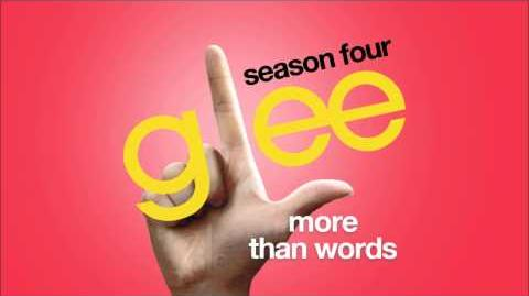 More Than Words Glee HD FULL STUDIO