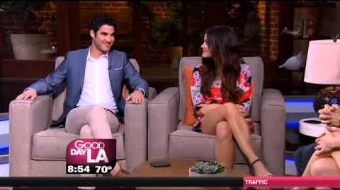 Darren Criss & Lucy Hale - TCA Interview