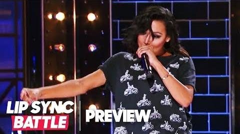 "Naya Rivera Throws Shade w Big Sean's ""I Don't F*** With You"" Lip Sync Battle Preview"