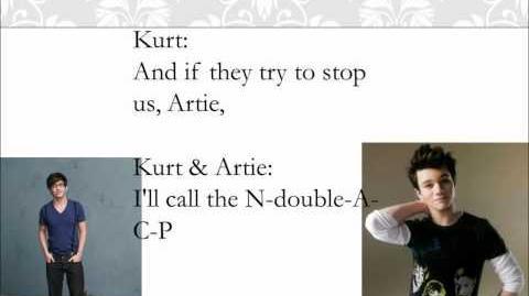 You Can't Stop The Beat Glee Lyrics