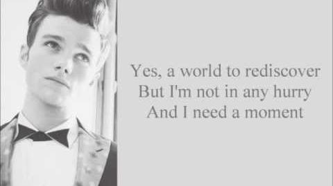 As If We Never Said Goodbye Glee Lyrics