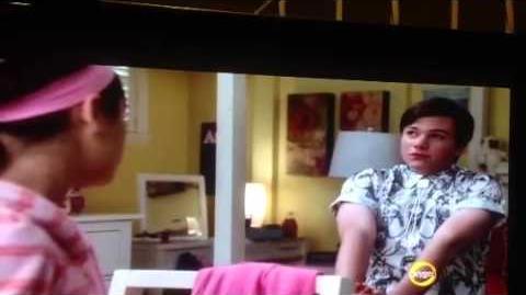 Glee Rachel gets a makeover from Kurt