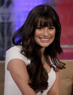 Lea Michele template photo
