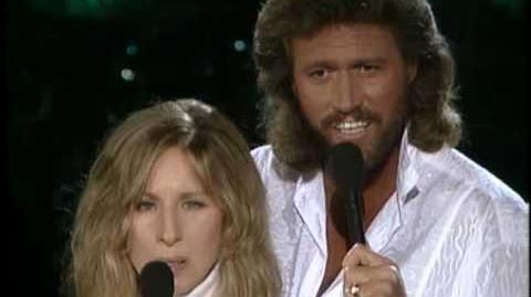 "Barbara Streisand & Barry Gibb ""What Kind Of Fool"""