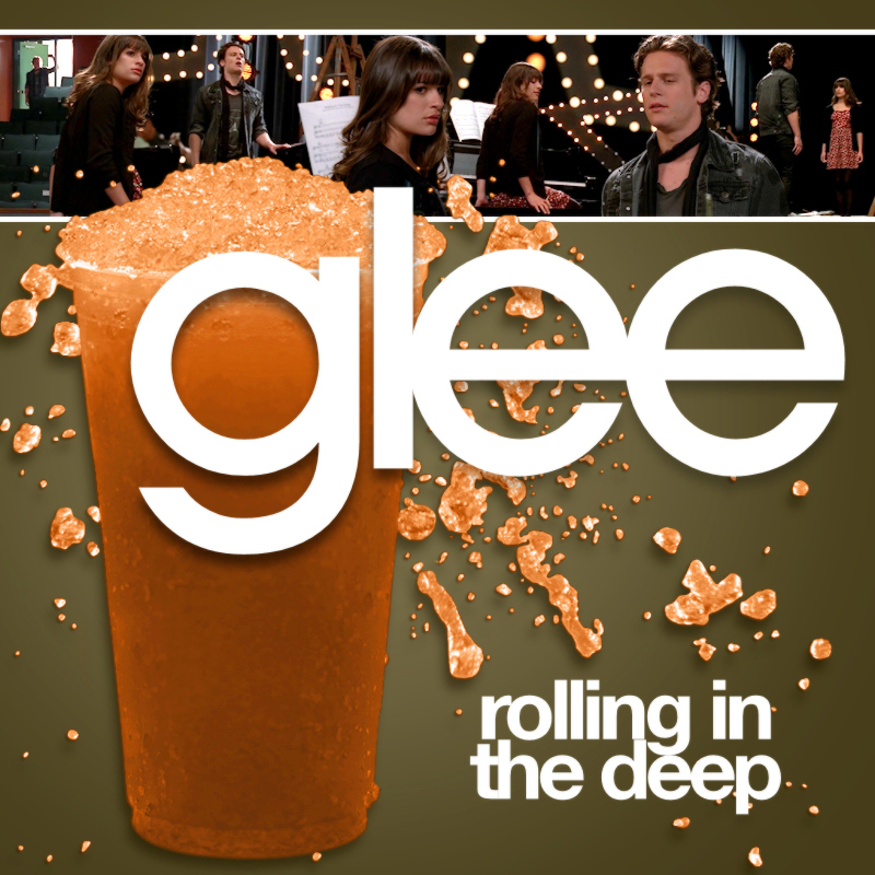 rolling in the deep glee