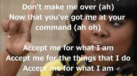 Glee - Don't Make Me Over (Lyrics)