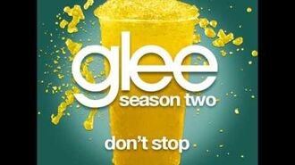 Glee - Don't Stop (DOWNLOAD MP3 + LYRICS)