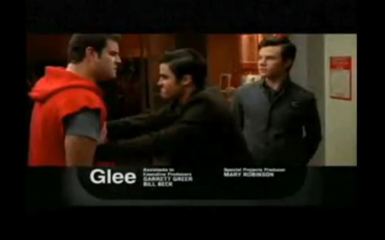Glee blaine dating karofsky