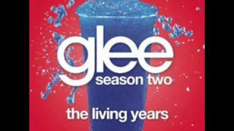 Glee - The Living Years (LYRICS)
