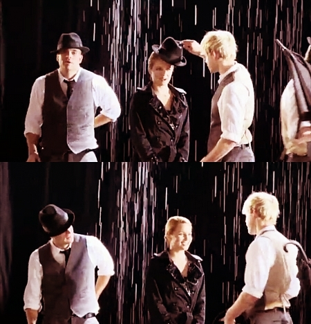 Image Dianna And Chord Singing In The Rain Umbrella B Roll Sam And