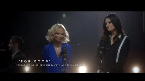 """OutOfOz """"For Good"""" Performed by Kristin Chenoweth and Idina Menzel WICKED the Musical"""
