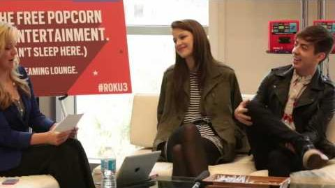 Exclusive SxSW interview with GLEE's Kevin McHale and Melissa Benoist (Part 3)