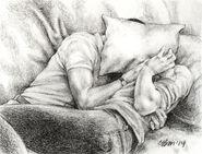 Klaine pillow