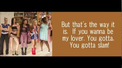 Wannabe - Glee Lyrics