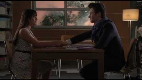 """""""Rachel's Yearbook Message To Kurt Scene"""""""