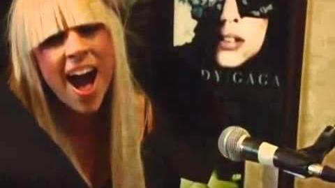 HD Lady GaGa - Poker Face Acoustic Version (Live @ Cherry Tree House Sessions 2008)