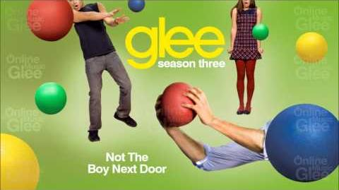 Not The Boy Next Door - Glee HD Full Studio