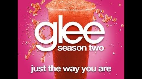 Glee - Just The Way You Are LYRICS