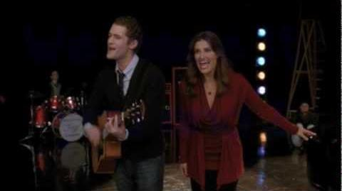 Glee - You And I (Will Schuester & Shelby Corcoran) - Lyrics Video