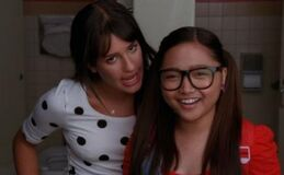 Lea-michele-charice0Glee-Season-2-Episode-1-Auditions
