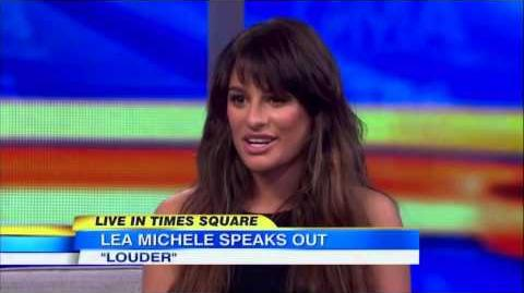 Lea Michele Full GMA Performance and Interview LIVE 3 5 14