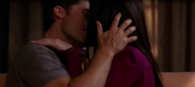 Will & Shelby making out