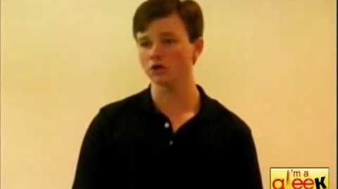 Audition Chris Colfer en VO