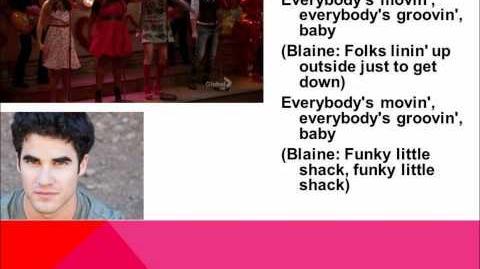 Love Shack Glee Lyrics