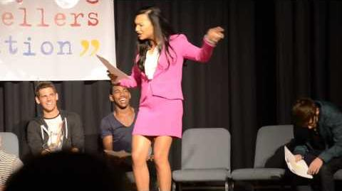 "*HD* Naya Rivera Glee Singing ""True Colors"" at Young Storytellers's Biggest Show Event 20 10 2012"