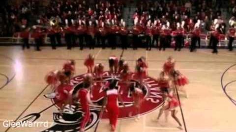 Glee - 4 Minutes (Full Performance) HD
