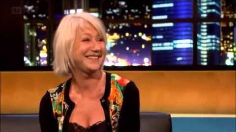 The Jonathan Ross Show - Helen Mirren INTERVIEW