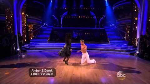 Amber Riley & Derek Hough - Rumba - Week 8
