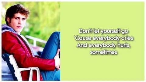 Glee - Everybody Hurts (Lyrics)-0