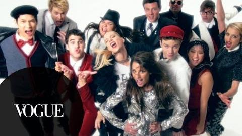 Behind the Scenes Glee's FNO PSA Video Shoot