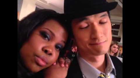 Last day of Season 4 on set of Glee!