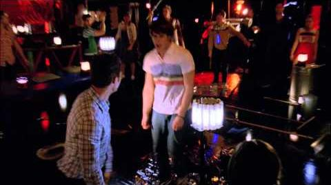 "Full Performance of ""We Will Rock You"" from ""Lights Out"" GLEE"