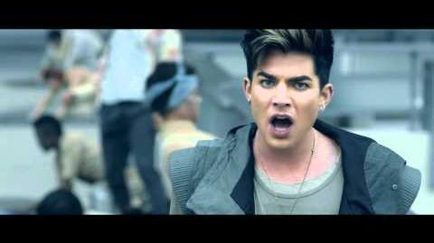 Adam Lambert - Never Close Our Eyes