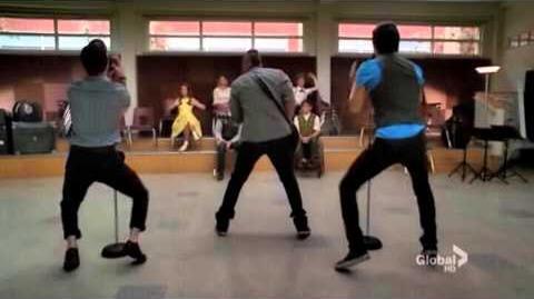 Blaine Anderson Dancing