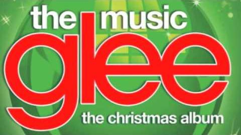 Glee - O Christmas Tree ~ with Lyrics