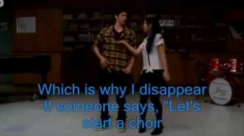 Glee Sing! Lyrics