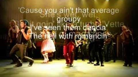 Glee - Baby Got Back - Lyrics