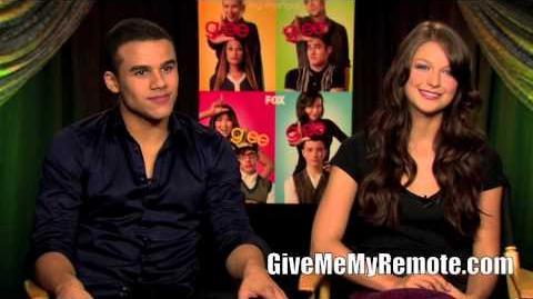 GLEE Jacob Artist and Melissa Benoist Dish on Joining the Fox Series-0