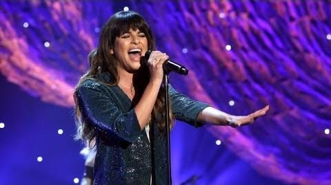 Lea Michele Performs 'On My Way'