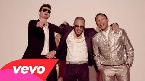 Robin Thicke - Blurred Lines ft. T.I