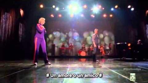 "-glee- ""The Winner Takes It All"""