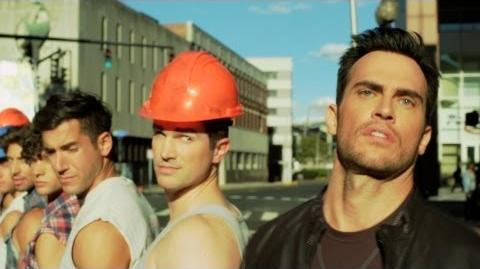 Cheyenne Jackson - DONT WANNA KNOW Official Music Video