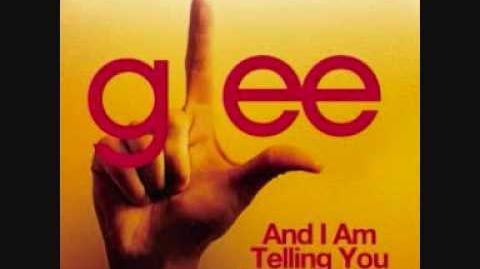 Glee - And I Am Telling You I'm Not Going Full Studio HD