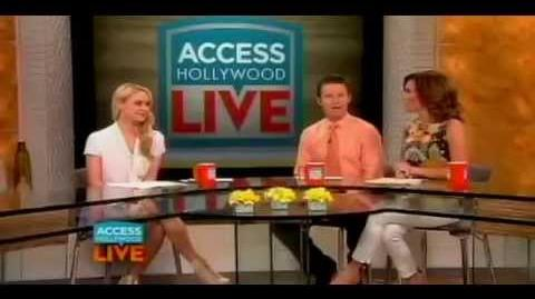 Becca Tobin on Access Hollywood Live