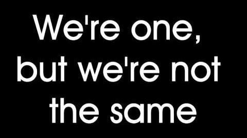 Glee - One (Lyrics) HD-0