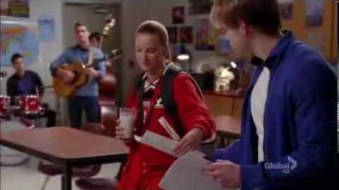 Glee something stupid (full performence)